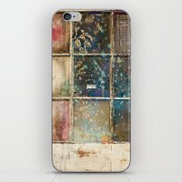 Watercolor Stained Window iPhone & iPod Skin