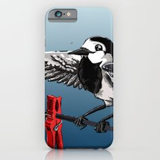 White Wagtail Slim Case iPhone 6s