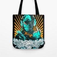 Ninja Beats Tote Bag