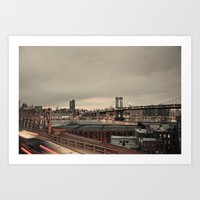 The City Never Sleeps:: … Art Print