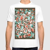 Schema 8 Mens Fitted Tee White SMALL