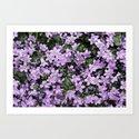 Vintage Flowers 3 Art Print