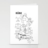 Rube Stationery Cards