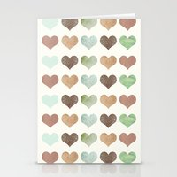 DG HEARTS - RUSTIC Stationery Cards