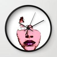 Heart Face Wall Clock