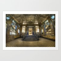 Wide And Grand Entrance  Art Print