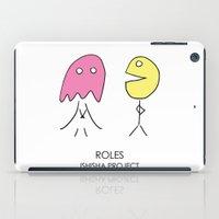 ROLES by ISHISHA PROJECT iPad Case