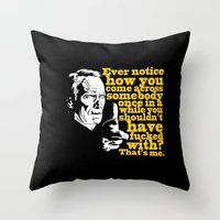 Gran Torino - Ever Notic… Throw Pillow