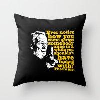 Gran Torino - Ever Notic… Throw Pillow