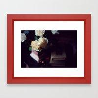 I'd Rather Have Roses Framed Art Print