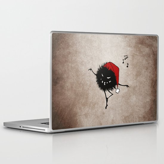 Dark Evil Christmas Bug Laptop & iPad Skin