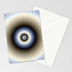 Circular Abstract Stationery Cards