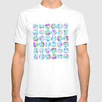 Drip Drip Drop Mens Fitted Tee White SMALL