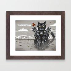 Transformaws Framed Art Print