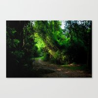 A Lost Alley Way Canvas Print