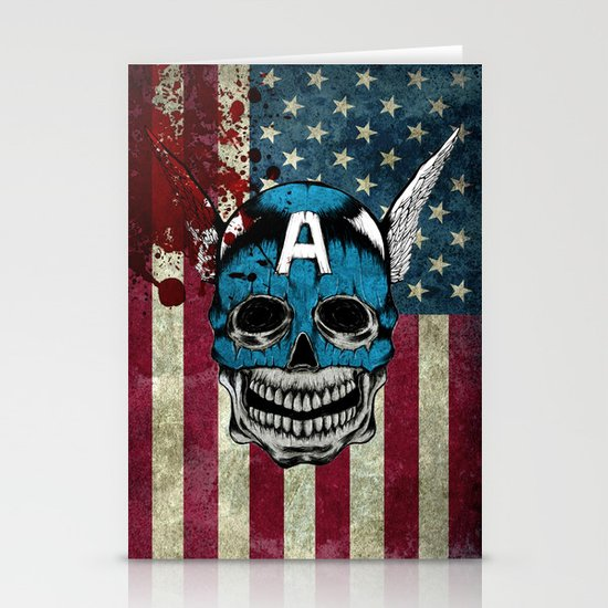 Captain-A Stationery Card