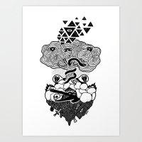 Hypnoisland Art Print