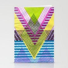 Isometric Harlequin #7 Stationery Cards