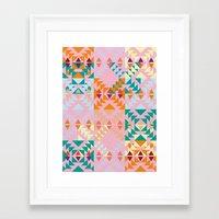 GEO GRAPHIC JOY  Framed Art Print