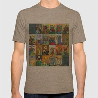 Tarot of Marseilles Mens Fitted Tee Tri-Coffee SMALL