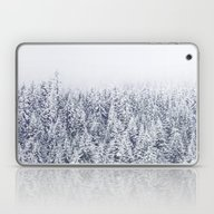Laptop & iPad Skin featuring A Tale Of Snow #society6 by 83oranges.com