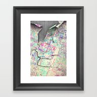 Decollage - For Iphone Framed Art Print