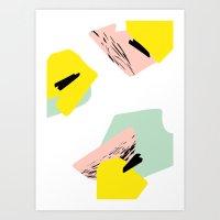 Pastel Dream Art Print