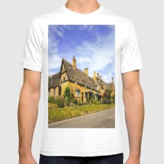 Alluring Cotswolds. Mens Fitted Tee White SMALL