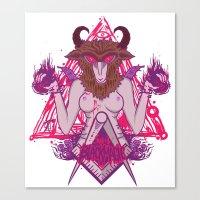 Blackmagic.v2 Canvas Print