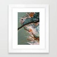 Corrosion Colors II Framed Art Print