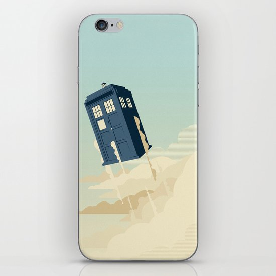 Time to Fly iPhone & iPod Skin