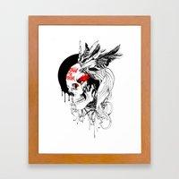 Boadica Framed Art Print