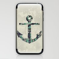 iPhone & iPod Skin featuring Anchor by Infloence