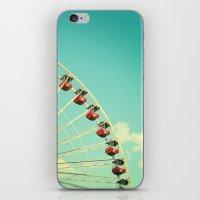 Summer at Navy Pier iPhone & iPod Skin