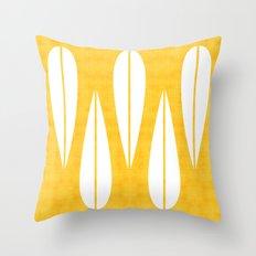 Make Mine MCM Orange Throw Pillow