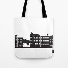 Park Slope Skyline (B&W) Tote Bag