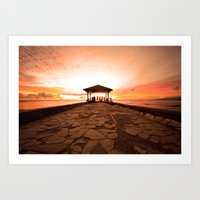 Just Another Waikiki Sun… Art Print