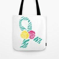 Endometriosis Ribbon 3 Tote Bag