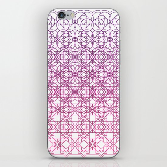 Metamorph 001 | Magenta iPhone & iPod Skin