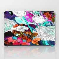 Forest Flowers 3 iPad Case