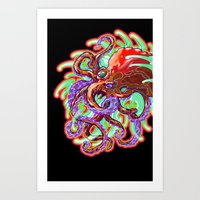 Rolling In The Deep Art Print