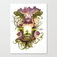 The Genesis Canvas Print