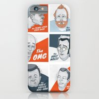 iPhone & iPod Case featuring The Faces of New Fathers by Moats