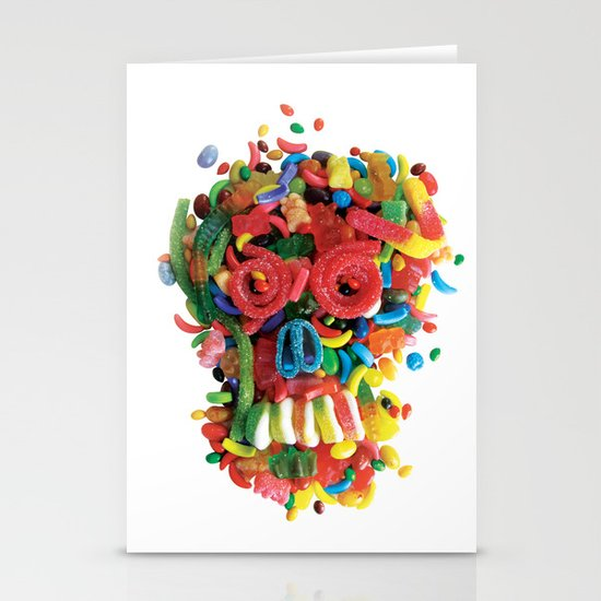 Death and Tooth Decay Stationery Card
