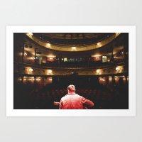 Södra Teatern Art Print
