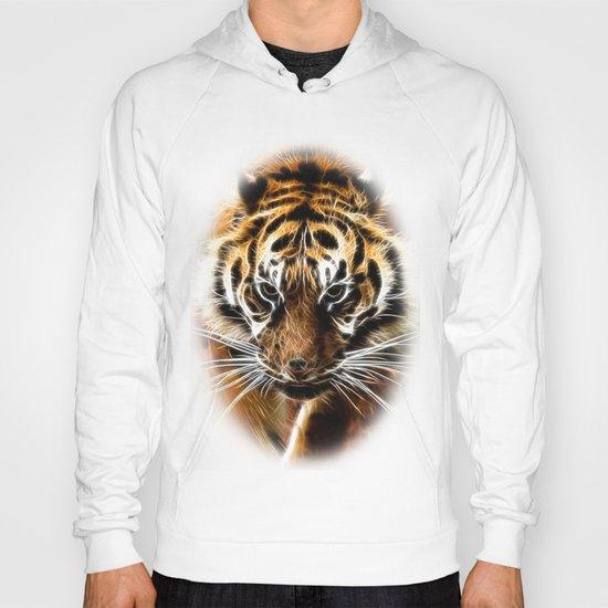 Amur tiger fractal Hoody