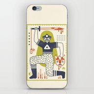 iPhone & iPod Skin featuring Victory! In Natural by LordofMasks