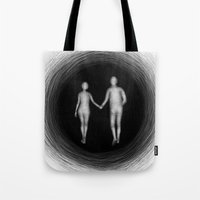I Will Follow You Into The Dark  - Illustration Tote Bag