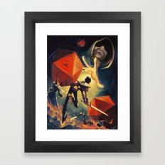 The Dungeon Master Framed Art Print