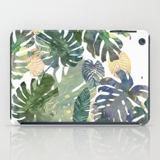 Tropical Leaves iPad Case